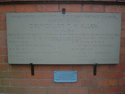 Replica of Foundation Stone