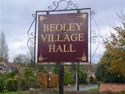 Beoley Village Hall Sign